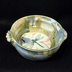 dragon fly serving dish