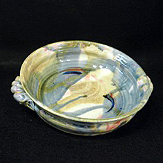 plain serving dish