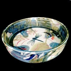 straight sided salad bowl